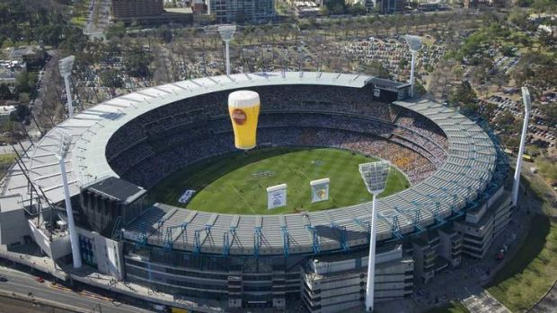 The MCG on Grand Final Day.