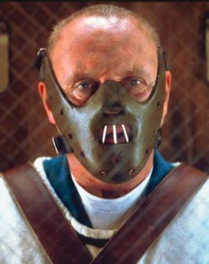 Cartoon villain: Hannibal Lecter.