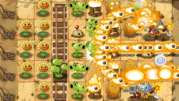 One of the best new twists is plant food that provides a short-lived power-up when placed on a plant.
