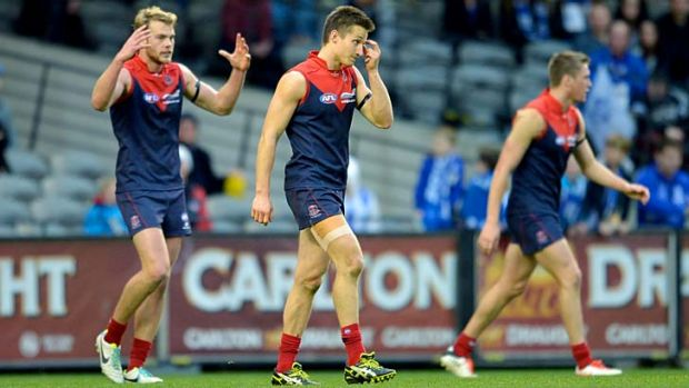 On the nose: Melbourne was humiliated again at the weekend.