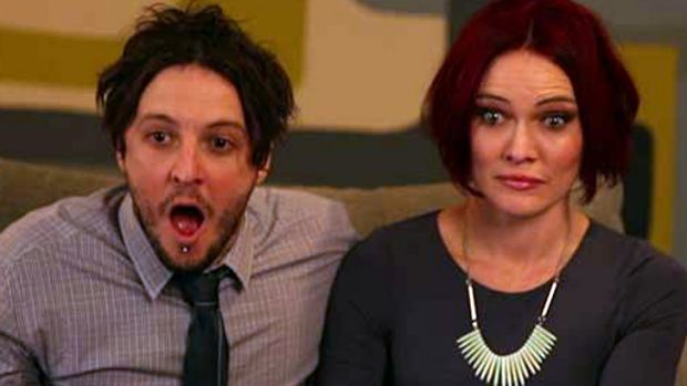 Fifth time's a charm: Contestants Matt and Kim react to the bidding on their apartment, eventually sold under the hammer ...