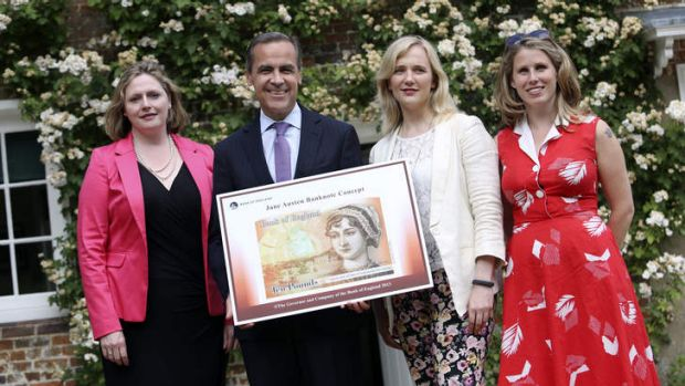 On display: from left to right, Mary Macleod, a Conservative MP, Mark Carney, governor of the Bank of England, Stella ...