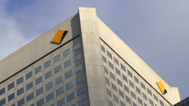 Under new scrutiny: the Commonwealth bank.