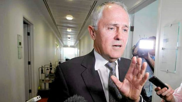 Malcolm Turnbull: won't replace Tony Abbott.