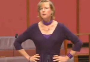 Senator Mary Jo Fisher taking the government to task over their Carbon TAX with a Dance Parody.