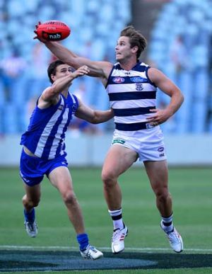 Geelong v North Melbourne.