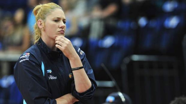 Lauren Jackson... the star player won't play with the Capitals next season.