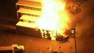Explosions and fire in Florida.