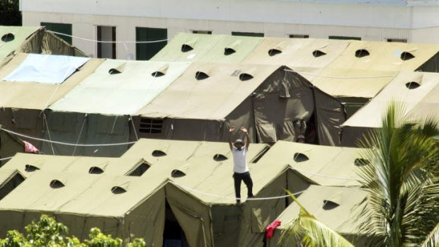 The Coalition has announced a plan to massively expand the tent accommodation on Nauru.