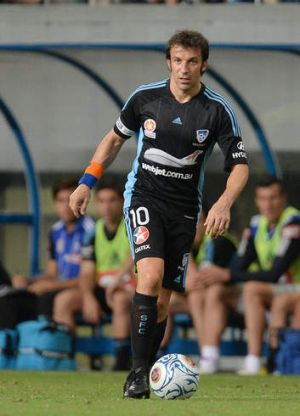 Freed up: Alessandro Del Piero during a pre-season friendly in Japan.