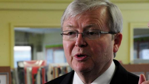 report on kevin rudd Introduction: kevin michael rudd was australia's 26th prime minister who held office for two and a half years kevin rudd became prime minister in 2007.