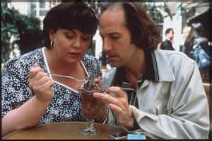 With Michael Maloney in <i>Sex And Chocolate</i>.