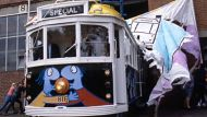 Trams to be covered in art (Video Thumbnail)