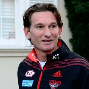 As positive as ever: James Hird stands firm.