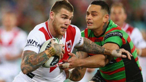 Yet to formalise a deal with St George: Josh Dugan.