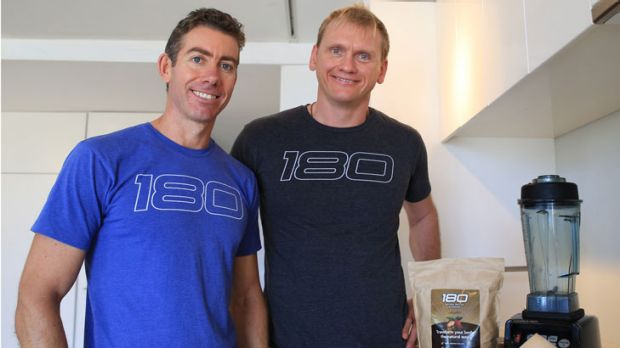 Stuart Cooke and Guy Lawrence have cornered the online supplement market.