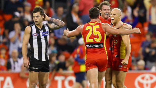 Gold Coast, an ugly winner over Collingwood this year, has had the easiest draw in 2013. The Magpies have ended up with ...