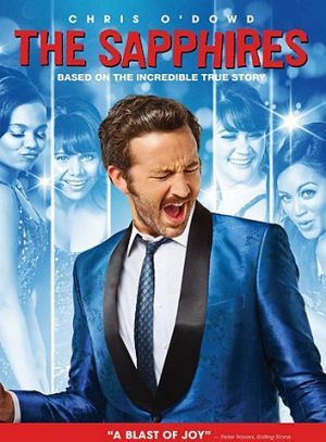 The DVD cover of the US release of <i>The Sapphires</i>.