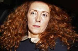 Hot potato: Rebekah Brooks.