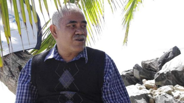 No confidence motion: Willy Telavi, the Prime Minister of Tuvalu.