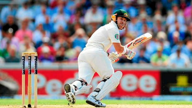 Learning curve: David Warner scores runs at a quick rate but possesses a good technique.