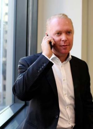 ''It's a rort'': Craig Bowater, who received a Telstra bill for almost $9000.