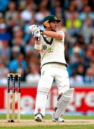 David Warner returned to the top of the order.