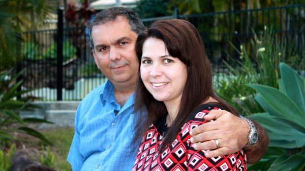 A work relationship had a happy ending for Vanessa and Scott Hall.