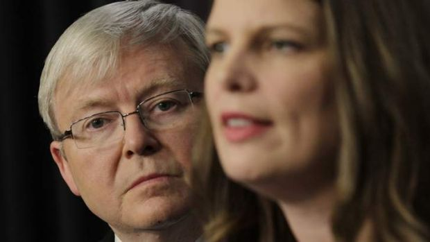 Prime Minister Kevin Rudd announces funding for before and after school care with the Minister for Early Childhood, ...