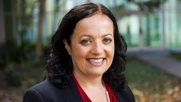 National Secretary of The Community and Public Sector Union, Nadine Flood.