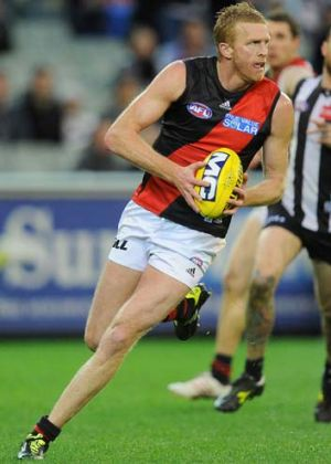 Essendon's Dustin Fletcher.