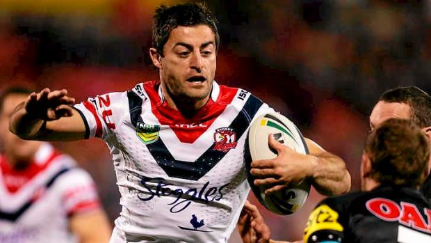 How will the Sydney Roosters shuffle their team in the absence of skipper and fullback Anthony Minichiello.