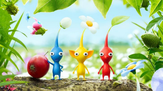 The colourful Pikmin are back after a very long wait, this time on the Wii U.