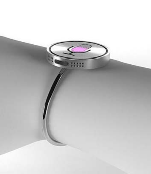 """A concept image of Apple's rumoured """"iWatch""""."""