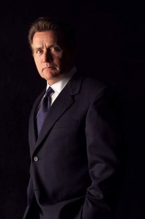 Martin Sheen as President Jed Bartlett in <i>The West Wing</i>.