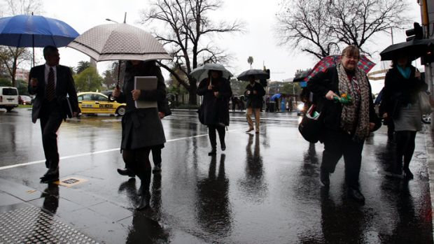 Weather forecasters say Melbourne's winter gloom should lift by Sunday.