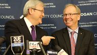Prime Minister Kevin Rudd announced former Queensland Premier Peter Beattie would stand for the Federal seat of Forde in ...