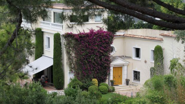 """Alleged spoils of office: The """"Villa fontaine Saint-Georges"""" in Cannes, allegedly given as a bribe to Bo. He denies ..."""