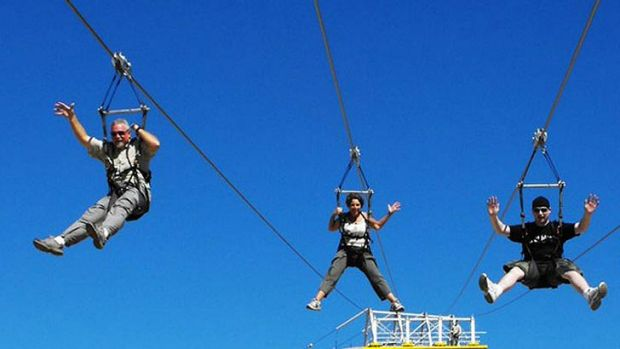 Does Brisbane need a zip line from the Kangaroo Point cliffs to the Botanic Gardens?