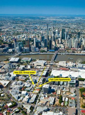 Developers of South Brisbane's Fish Lane Apartments, GDL, have plans for another high-rise tower.