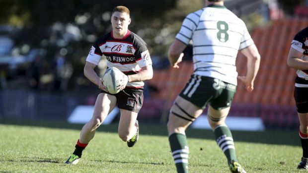 Talented: James O'Connor turning out for Sydney suburban club West Harbour.