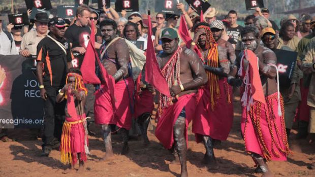 Participants have travelled from Melbourne to Arnhem land.