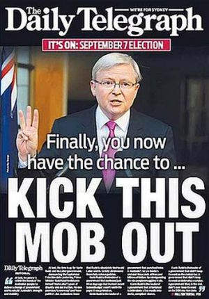 The front page of <em>The Daily Telegraph</em> on Monday August 5.