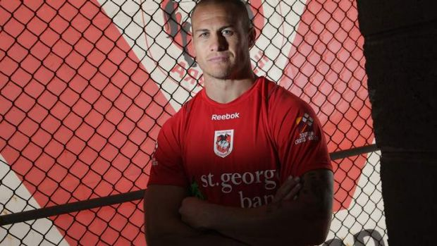 End of an era: St George Illawarra centre Matt Cooper is contemplating hanging up the boots after a season-ending injury.