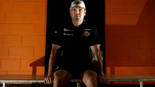 In the balance: Mick Potter's attempts to rebuild the Tigers have put his job on the line.