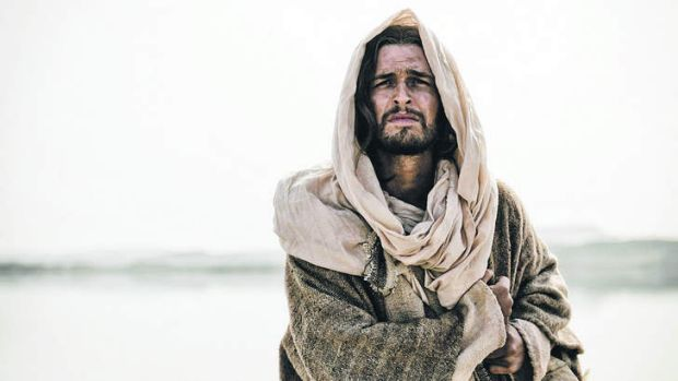 Diogo Morgado as Jesus in <i>The Bible</i>, the 10-part miniseries from Mark Burnett that was recut as the movie <i>Son ...