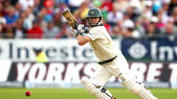 Chris Rogers, along with former opening partner Shane Watson, resurrected Australia's innings.