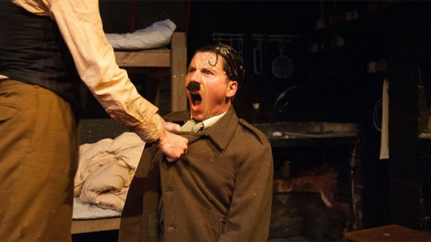 'Hitler is an impotent dictator from the moment he bursts through the door.'