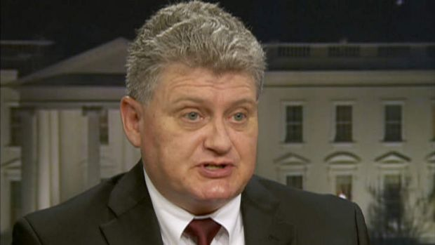 Lon Snowden, the father of National Security Agency leaker Edward Snowden, speaks during an interview in Washington.
