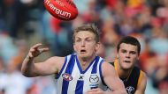 Crows hold back Roos in thrilling victory (Video Thumbnail)